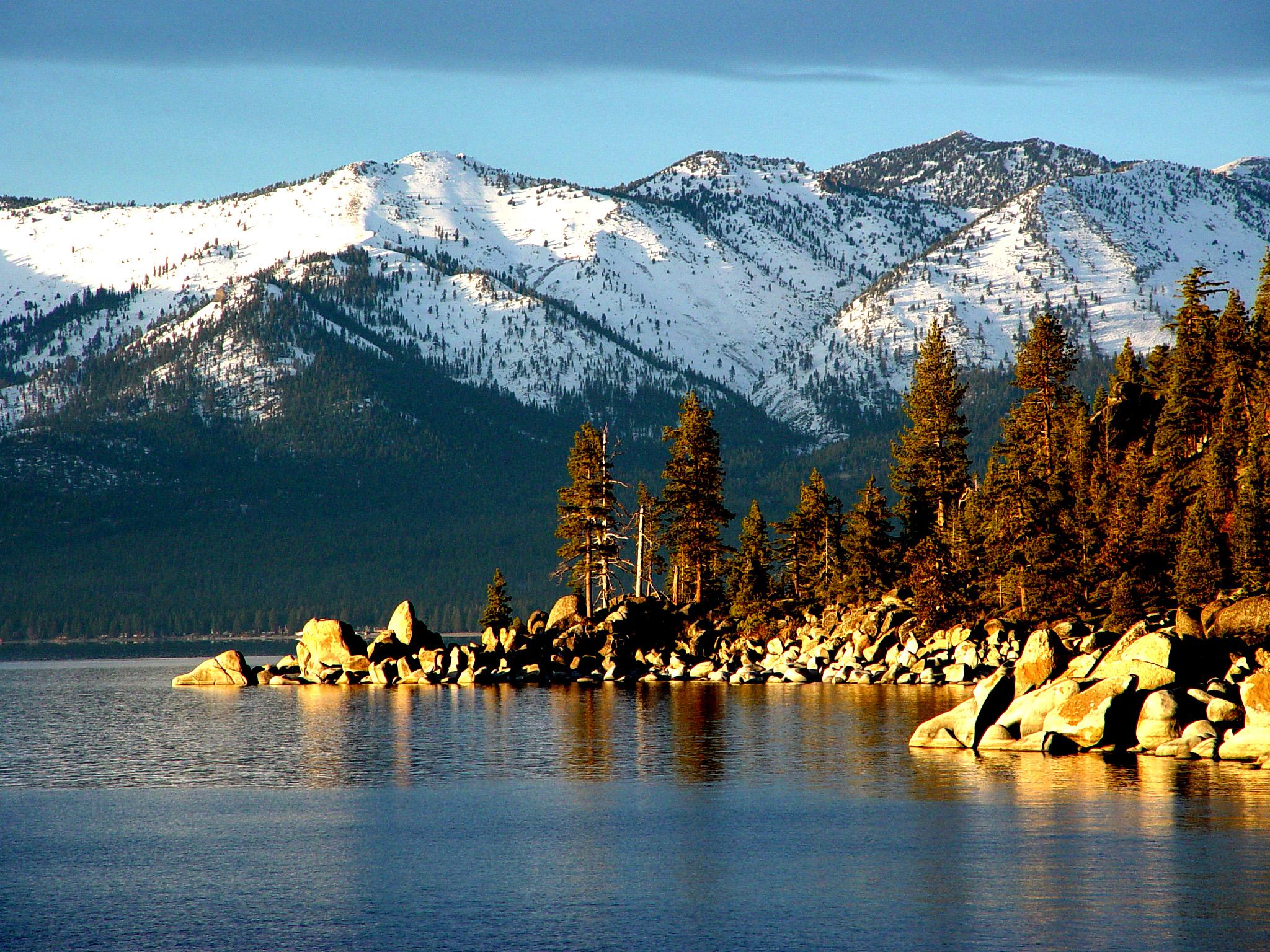 Lake Tahoe, the ice-age lake
